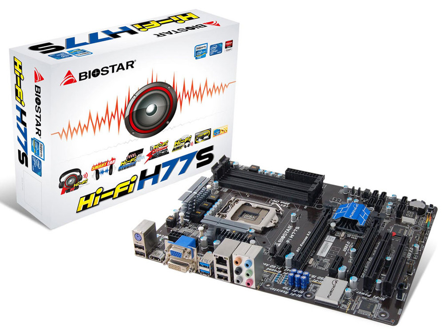 Hi-Fi H77S INTEL Socket 1155 gaming motherboard