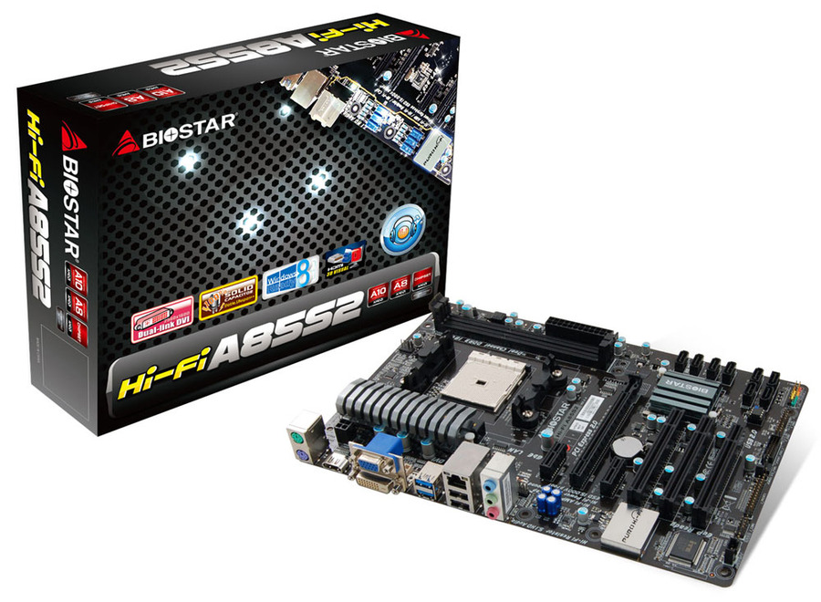Hi-Fi A85S2 AMD Socket FM2 gaming motherboard
