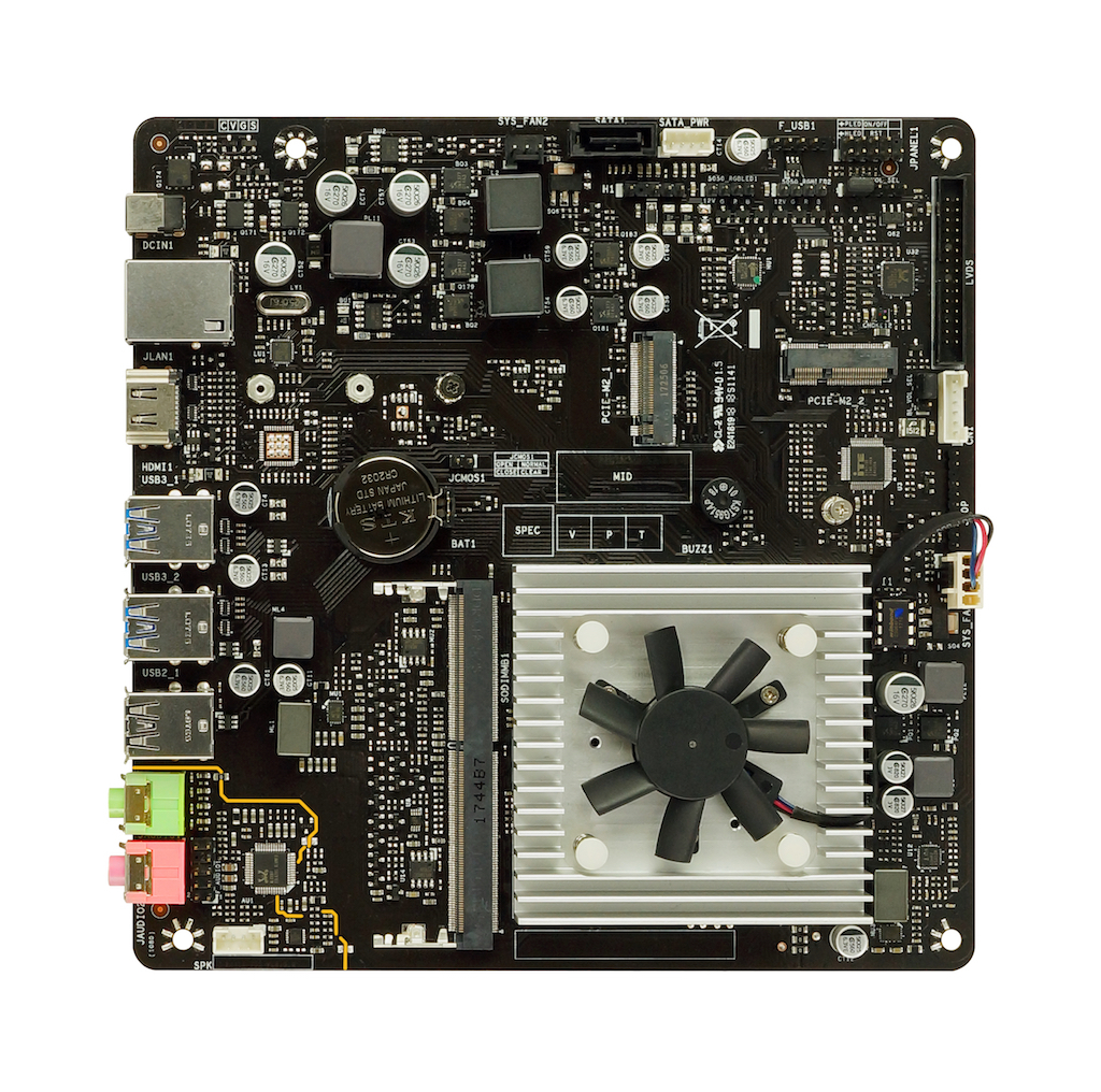 J4105TH INTEL CPU onboard gaming motherboard