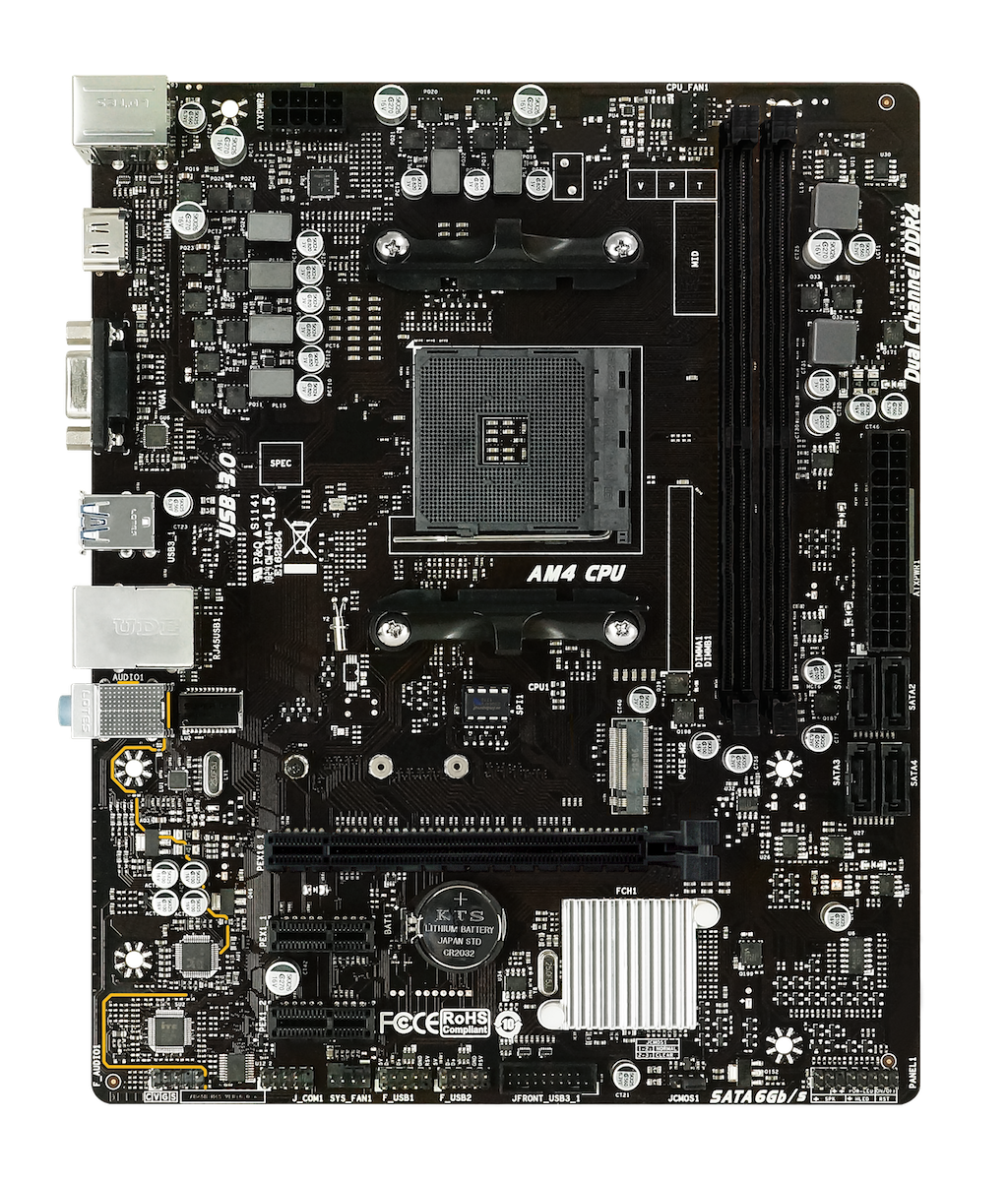 X470MH AMD Socket AM4 gaming motherboard