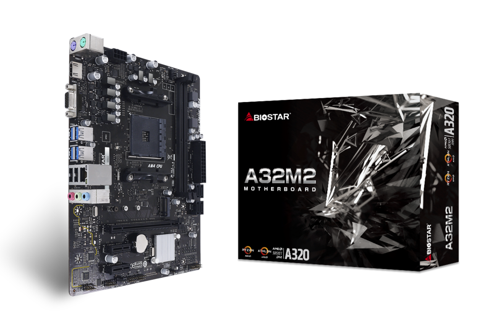 A32M2 AMD Socket AM4 gaming motherboard