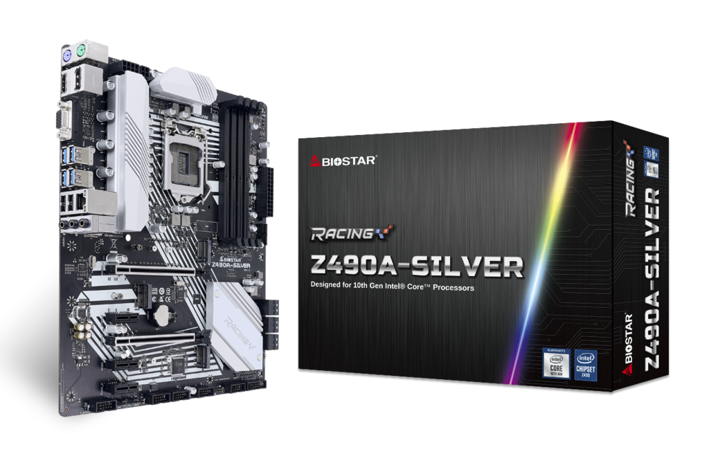 Z490A-SILVER INTEL Socket 1200 gaming motherboard