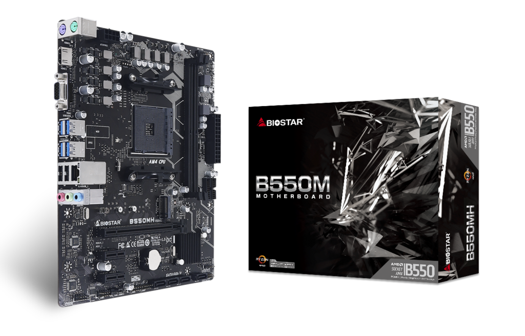 B550MH AMD Socket AM4 gaming motherboard