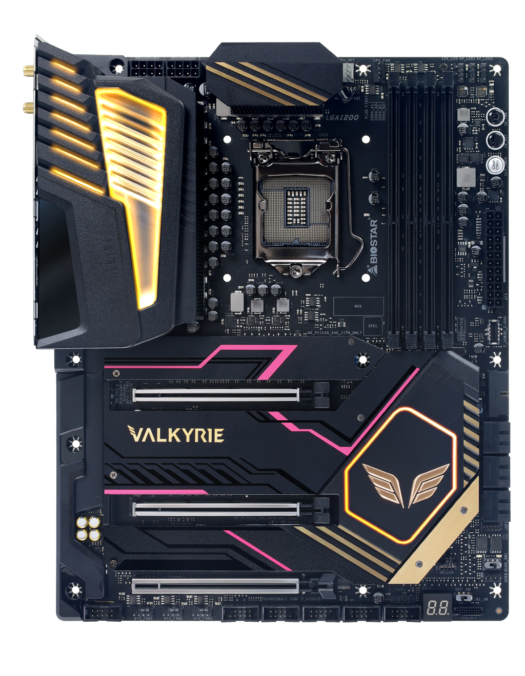 Z590 VALKYRIE INTEL Socket 1200 gaming motherboard