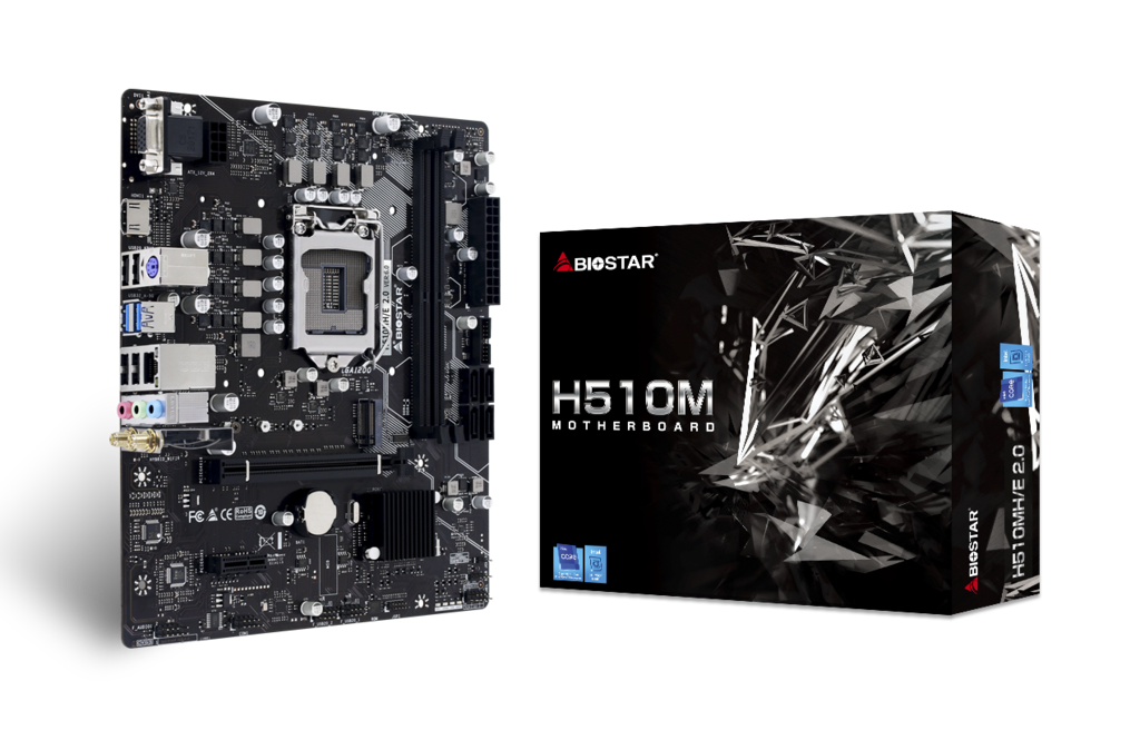 H510MH/E 2.0 INTEL Socket 1200 gaming motherboard